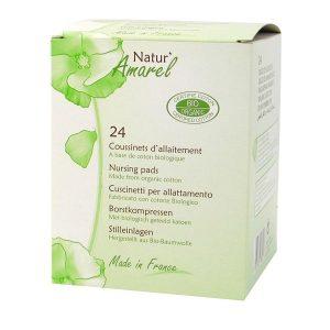 coussinets d'allaitement Natur Amarel